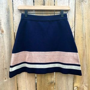 Topshop | Knit A-line mini Skirt Size 4